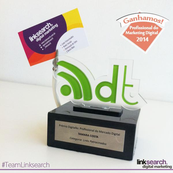 Linksearch Ganha o Prêmio Digitalks Categoria Links Patrocinados